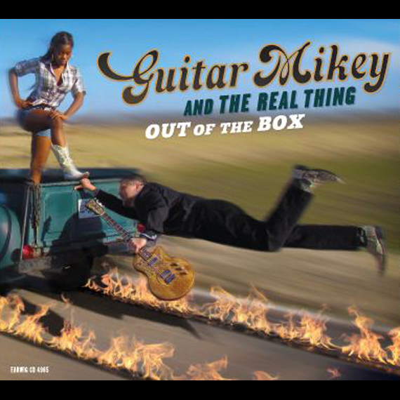Guitar Mikey, Out of the Box Ear Wig CD 4965